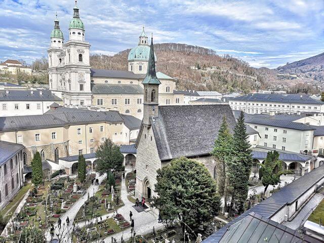Iglesia de San Pedro que ver en salzburgo