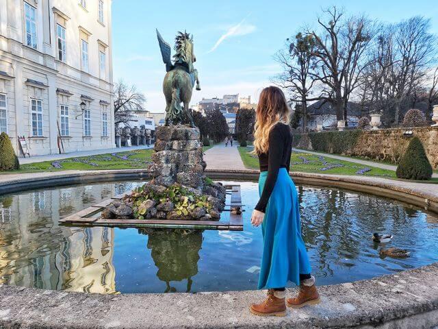 Jardines Mirabell Salzburgo