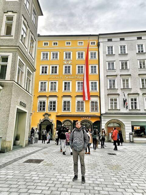 Casa Natal de Mozart salzburgo que ver