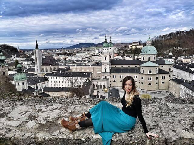 Vistas desde la Fortaleza de Hohensalzburg
