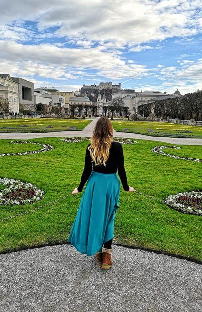 Jardines de Mirabell Salzurgo