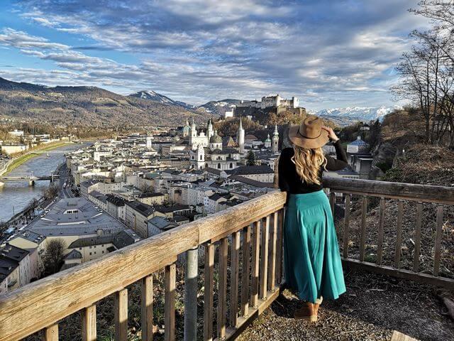Vistas mirador Salzburgo