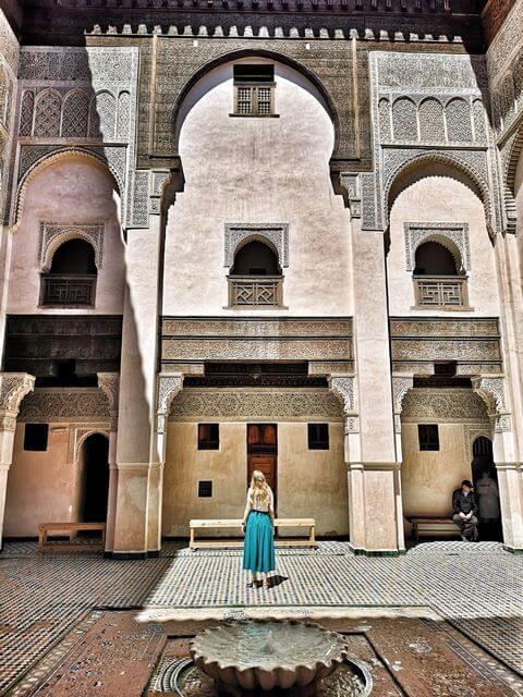 Que ver y hacer en Fez, Madrasa Cherratine