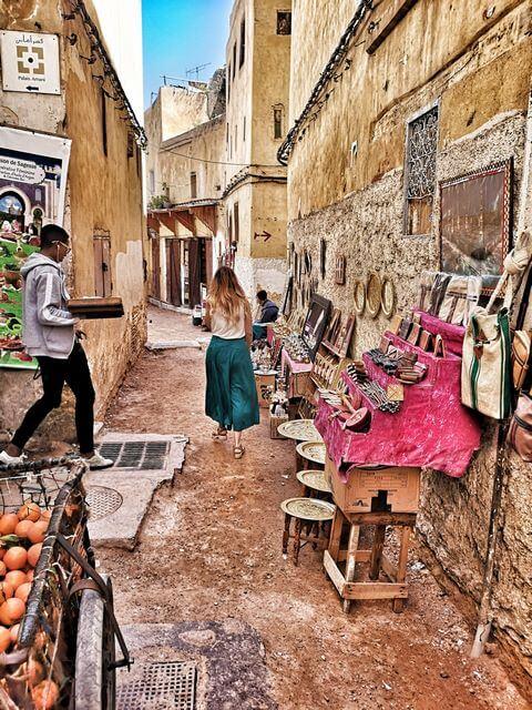 Que ver y hacer en Fez, zoco