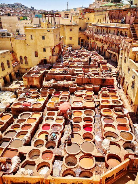 Imprescindible de Fez, Curtidora Chouwara