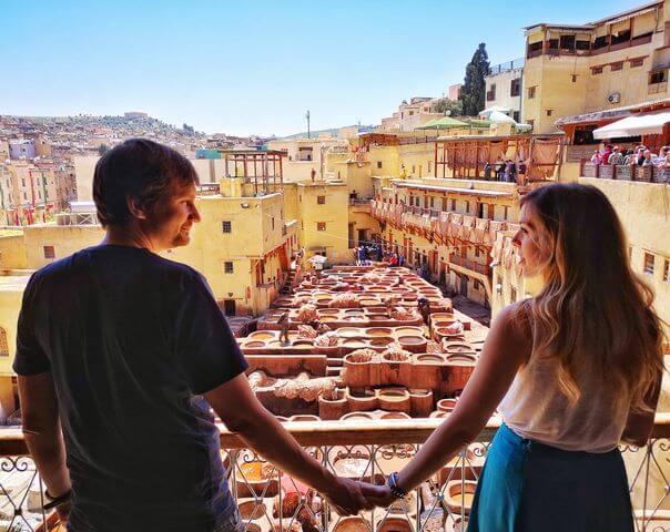 Que ver y hacer en Fez, curtidudia Chouwara