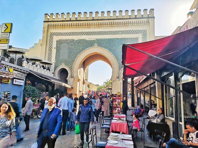 La Puerta Azul, Bab Boujeloud