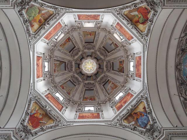 Cupula catedral Salzburgo