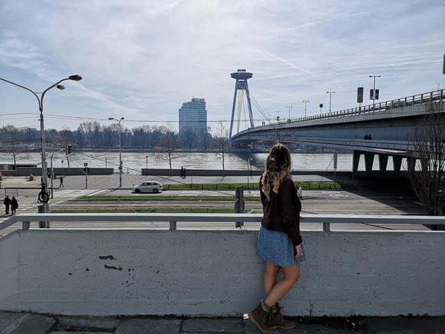 UFO Bratislava y el Danubio