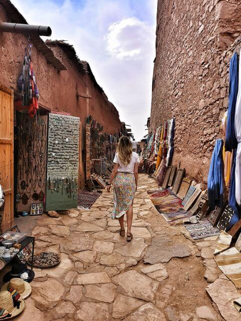 Ait Ben Haddou, paseando por sus calle