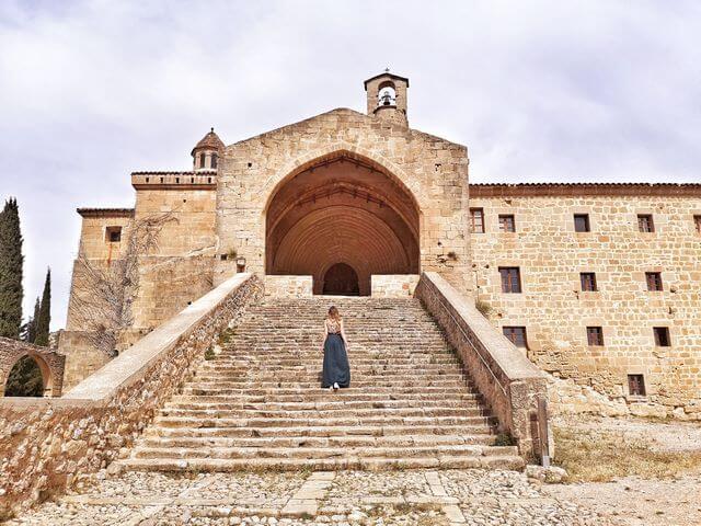Convento San Salvador Horta de Sant Joan Tarragona