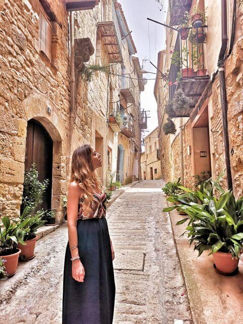 Horta de Sant Joan Tarragona casco antiguo