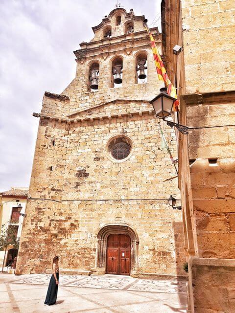 Horta de Sant Joan Tarragona Iglesia