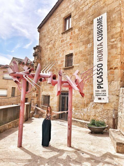 Horta de Sant Joan Tarragona centro picasso