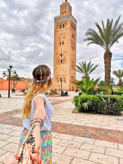 Mezquita Koutoubia Marrakech que ver
