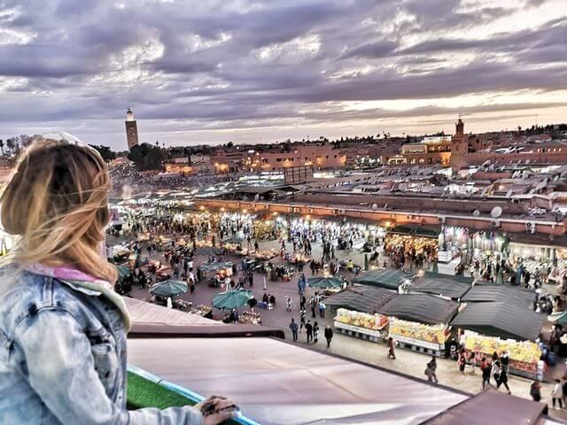 Que ver en Marrakech, Jamaa el Fna