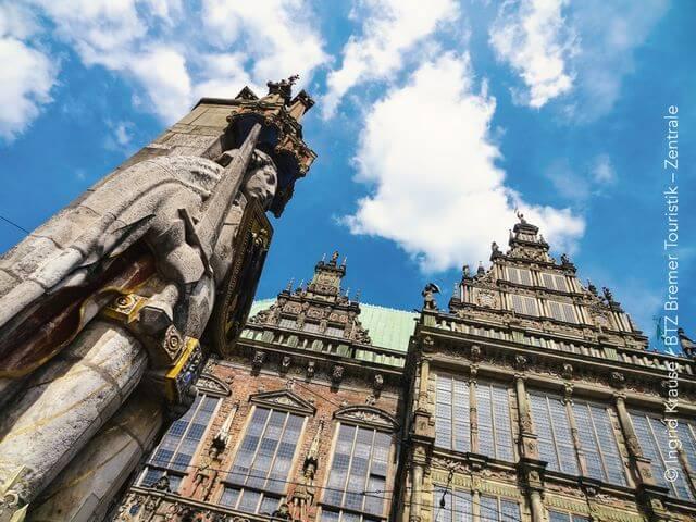 Roland, Rathaus Bremen