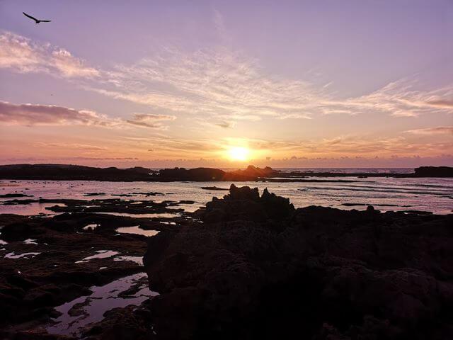 Puesta de sol en Essaouira