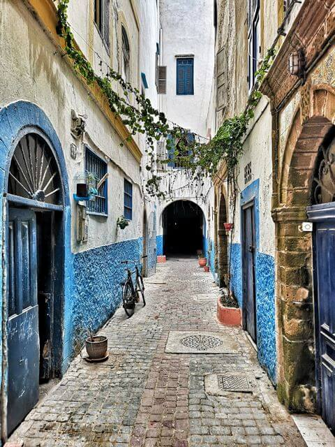 Callejones en Essaouira