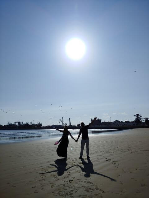 Playa essaouira marruecos