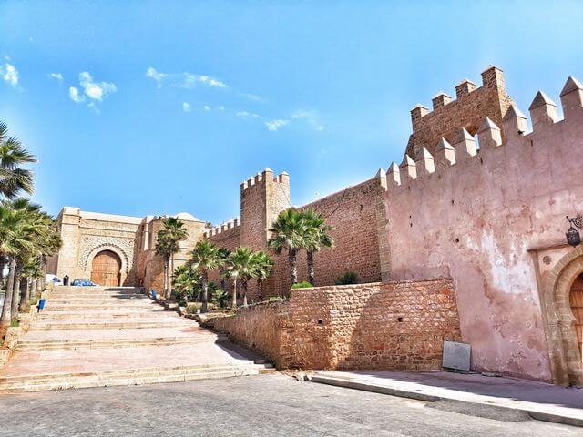Bab Oudaya Kasbah de los Oudayas Rabat