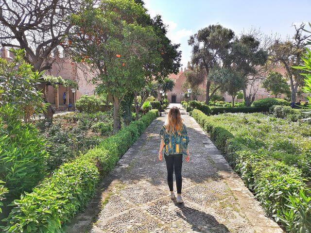 Jardin Andalusi Rabat