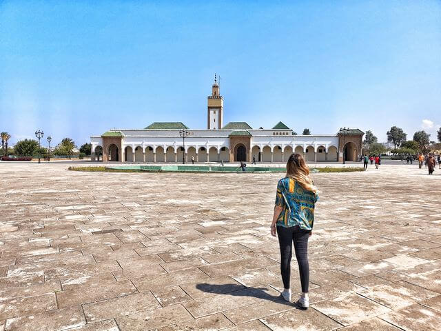 Palacio Real Rabat Mezquita