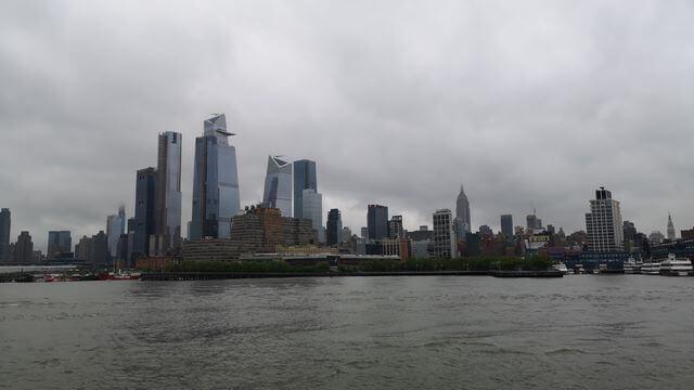 Skyline Nueva York desde ferry