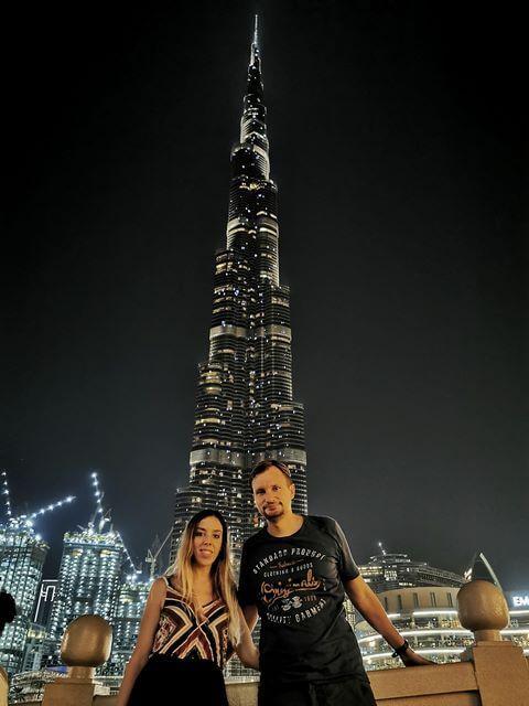 Escala Abu Dhabi y Dubai - Dubai