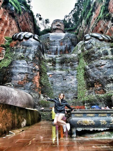 Viaje China por libre Buda Leshan
