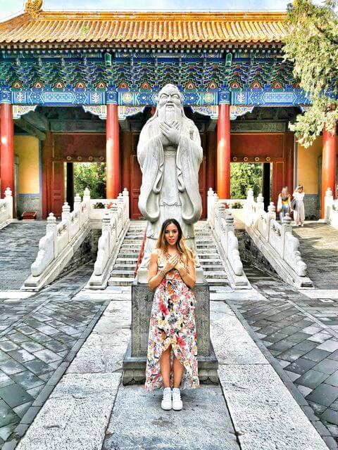Viaje por libre a china 15 dias Templo Confucio