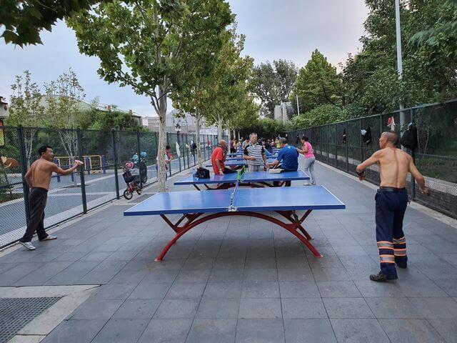 Ping pong en Pekin