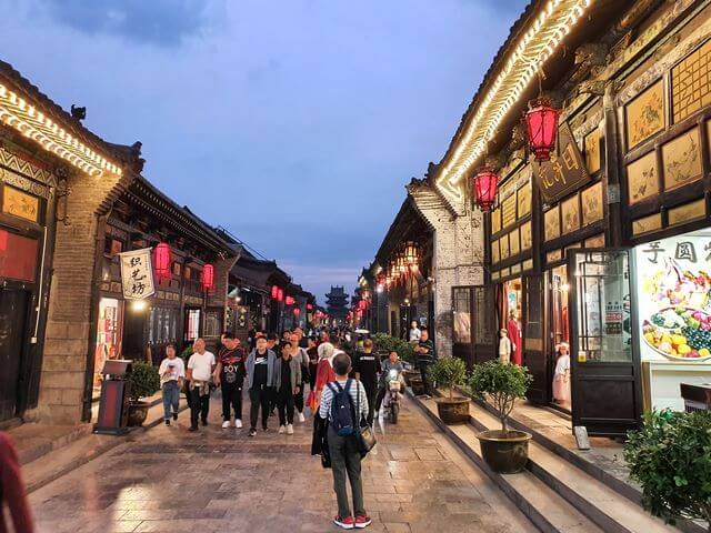 pingyao de noche china