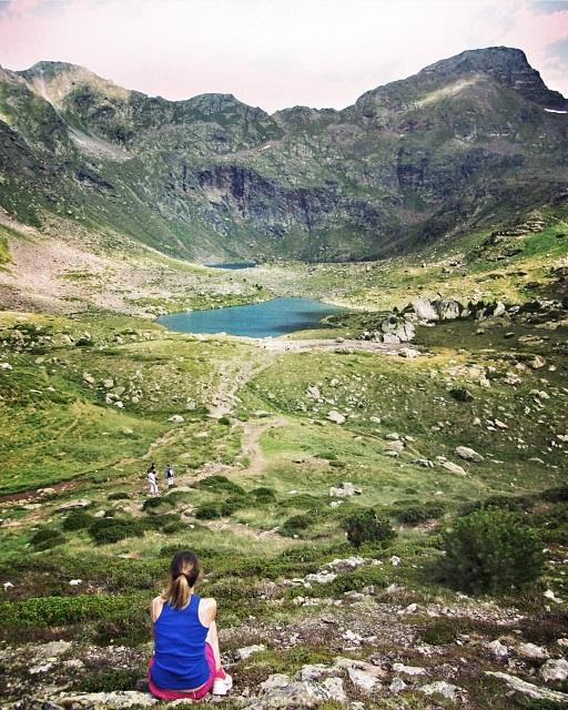 Andorra Llacs de Tristaina