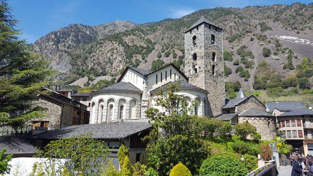 Iglesia Santa Coloma Andorra