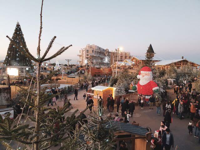 Le Barcares Village de Noel