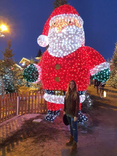 Le Barcares Village de Noel iluminación