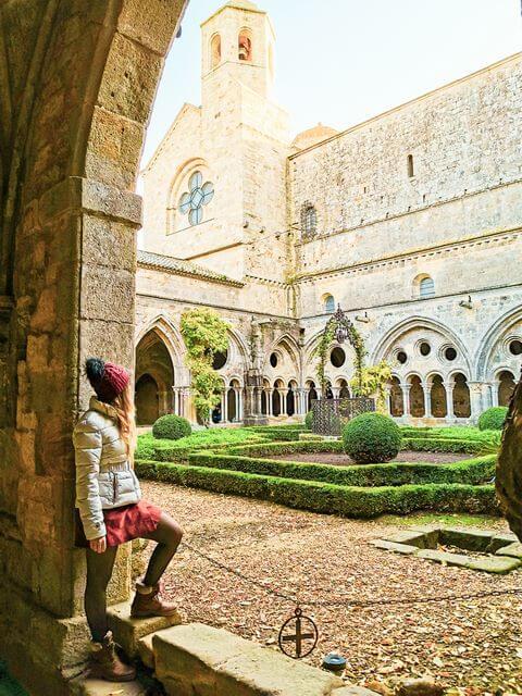 Ruta 3 dias sur de Francia, abadía de Fontfride
