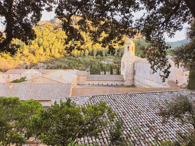 Jardines abadia de Fontfroide Narbonne