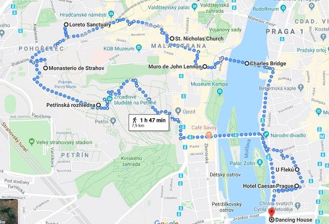 Praga en 3 días: recorrido primer día