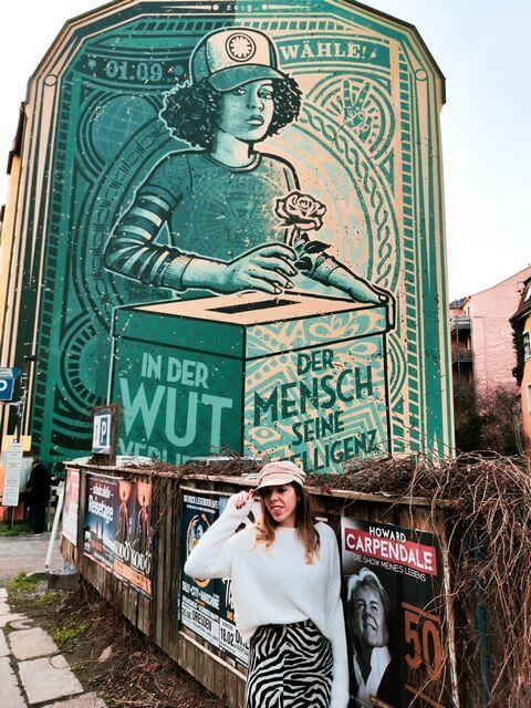 Street art en Dresde