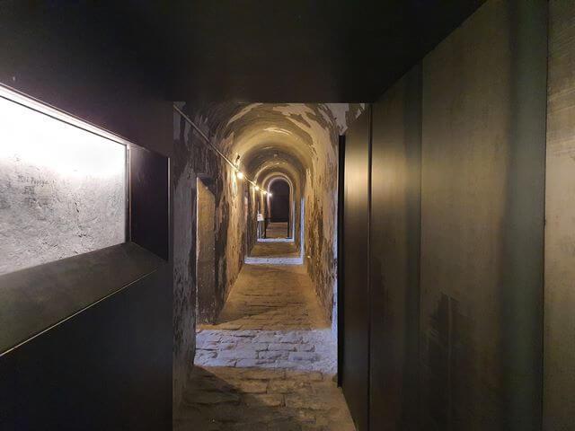 Calabozos Castillo de Montjuic