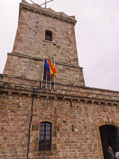 Torre Vigia desde los pies de la fortaleza