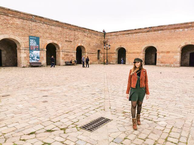 Patio de armas Castillo de Montjuic