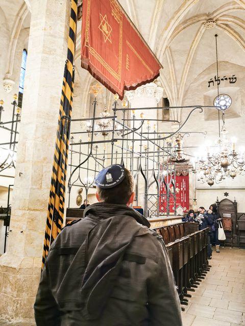 Sinagogas de Praga inlcuidas en la Prague card