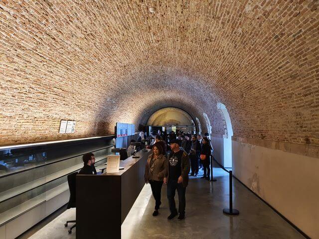 Taquillas entrada Castillo de Montjuic