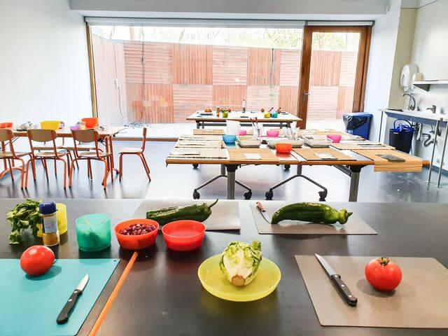 Fundacio Alicia talleres de comida