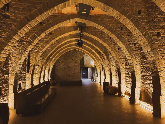 Mon sant benet visita medieval Bodega
