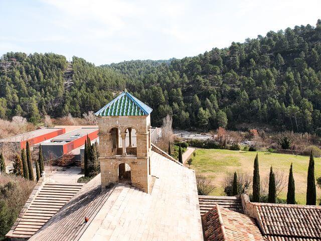 Vista desde el campanario del monasterio