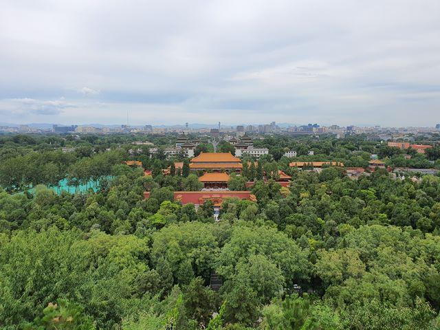 Ciudad Prohibida desde el Parque Jingshan